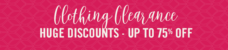 Clothing Clearance Huge Discounts - Up To 75% Off
