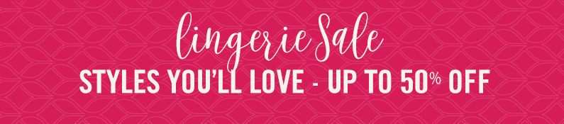 Lingerie Sale Styles You'll Love - Up To 50% Off