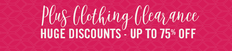 Plus Size Clothing Clearance Huge Discounts - Up To 75% Off