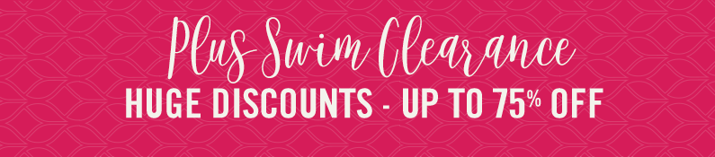 Plus Size Clearance Swim Huge Discounts - Up To 75% Off