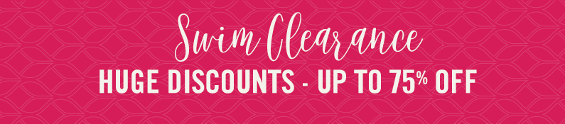Swim Clearance Huge Discounts - Up To 75% Off