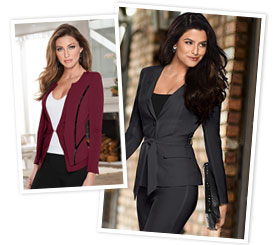Confidence via Style - Sophisticated style is easy - just look to VENUS! Here, we have all the looks that are beautiful but even more confident!
