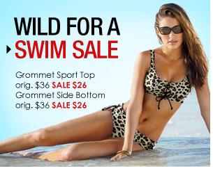 Sale - Grommet Sport Swim Top SALE $26 - Grommet Side Bottoms SALE $26