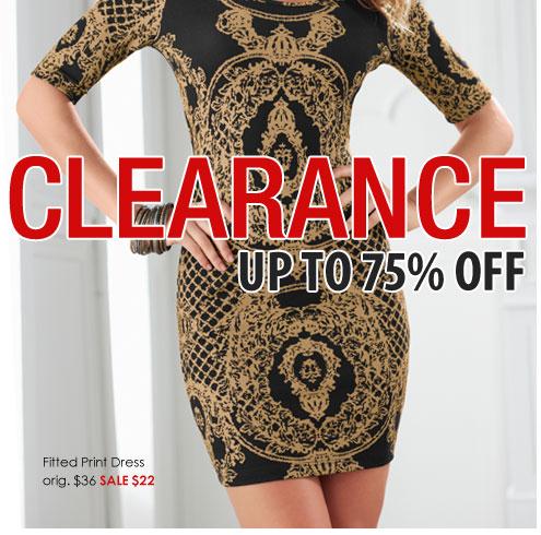 Venus Clothing Clearance