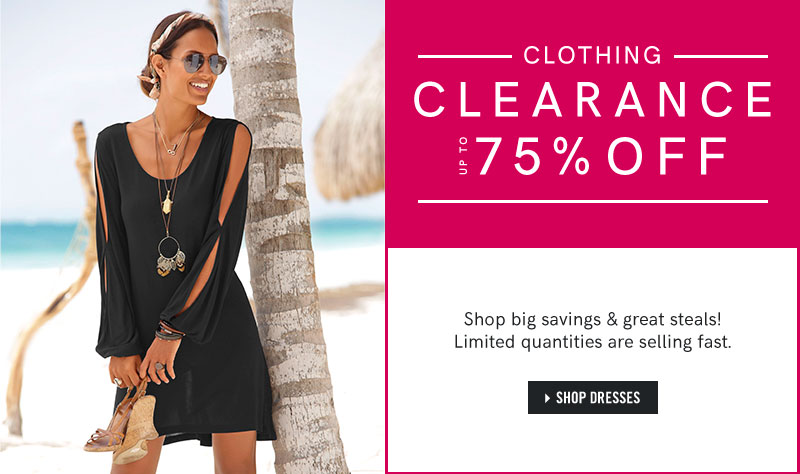 Shop our Dresses for a clearance up to 75 percent off! 5eb1b5455199