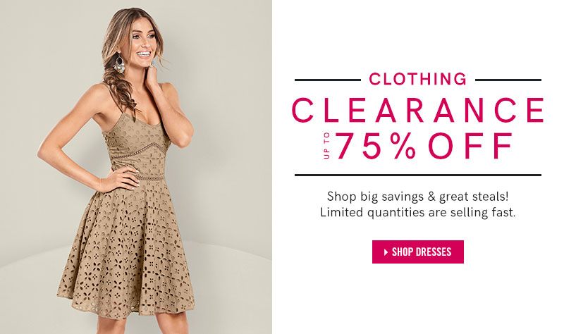 42babbf049fd1 Shop our collection of Dresses on clearance up to 75 percent off!