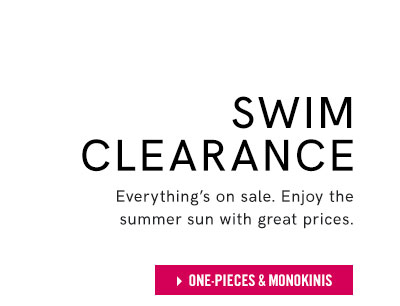 Step into the perfect fit with VENUS one-piece swimsuits, now on clearance.
