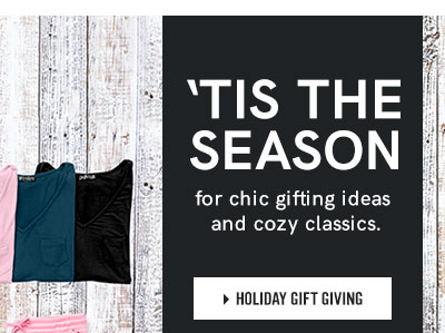 Tis the season for chic gifting and cozy classics. Shop Holiday Gift Giving.