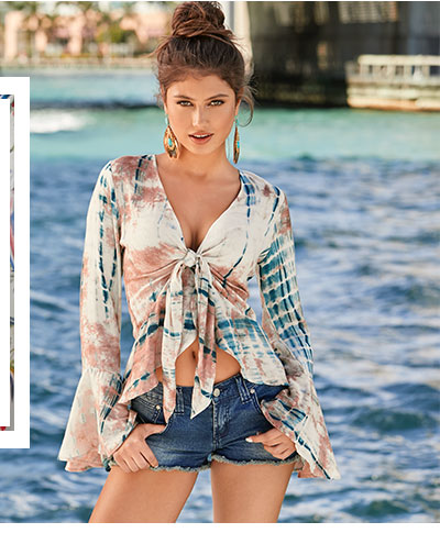 Find fresh Tops in all of your favorite styles at VENUS!