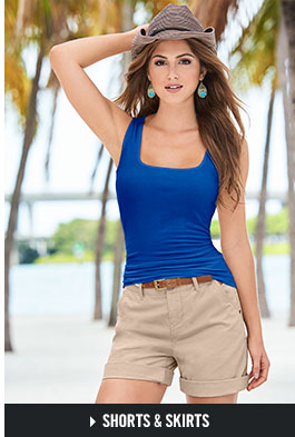 96ac5ae7e2 Shop for women's skirts and shorts in this season's favorite styles.
