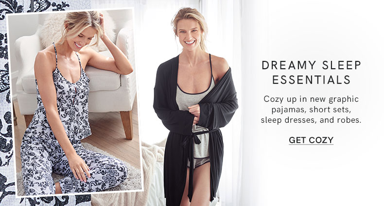 Cosy up with these dreamy sleep essentials.
