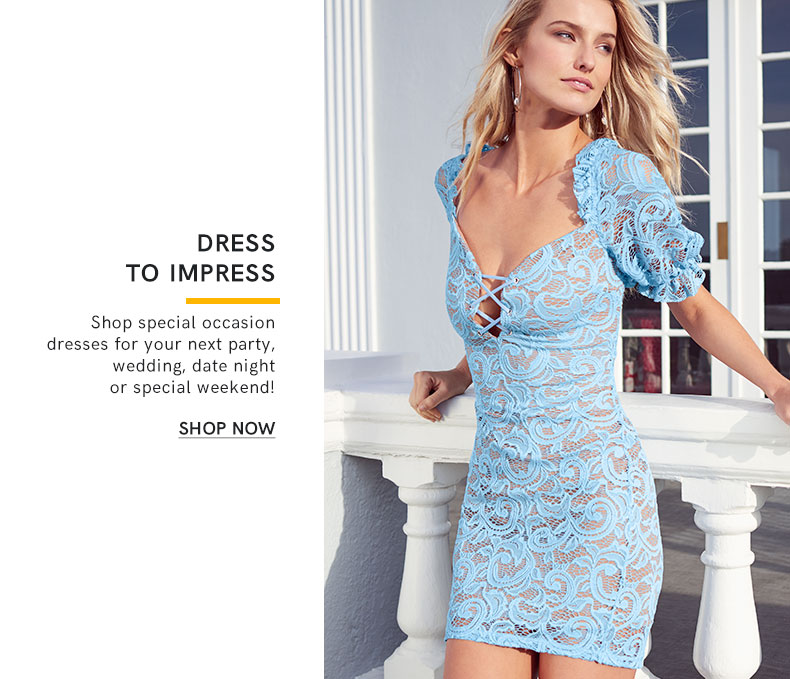 Shop special occasion dresses for your next party, wedding, date night, or special weekend!