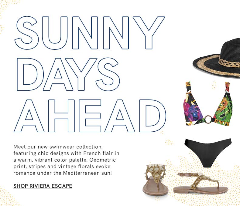 Escape to the Riviera with this collection from VENUS.