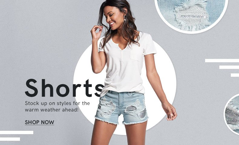 Find the perfect pair of shorts.