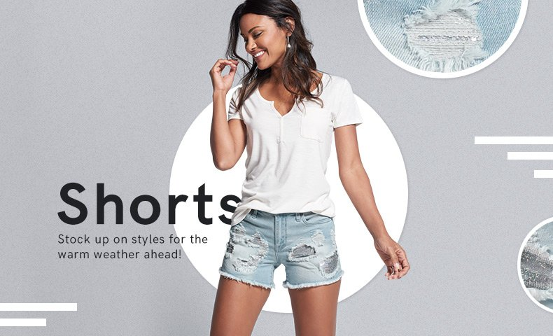 Discover women's shorts for summer.