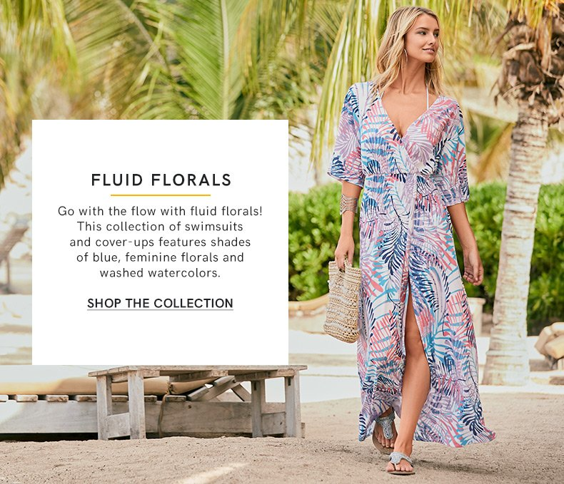 Discover these floral print fashions.