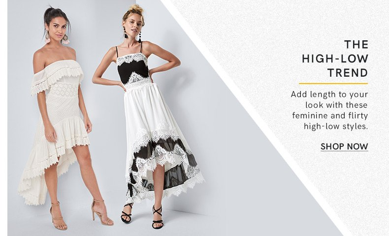 Discover high low dresses and make a fashion statement.