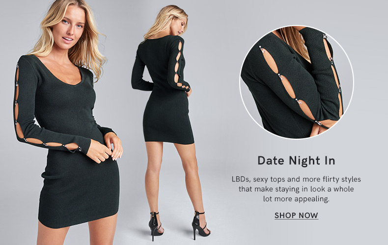 Discover our Date Night In Collection and make a fashion statement.