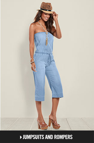 Shop Jumpsuits and Rompers.
