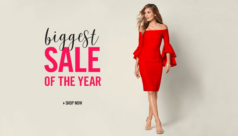 It's the biggest sale of the year!