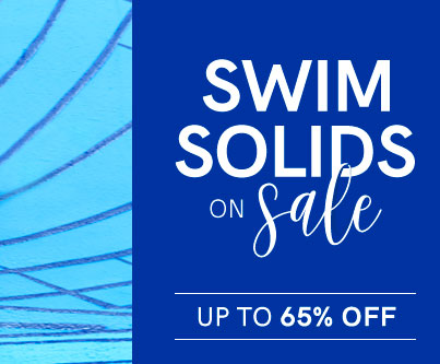 Swim solids on sale up to 65% off.