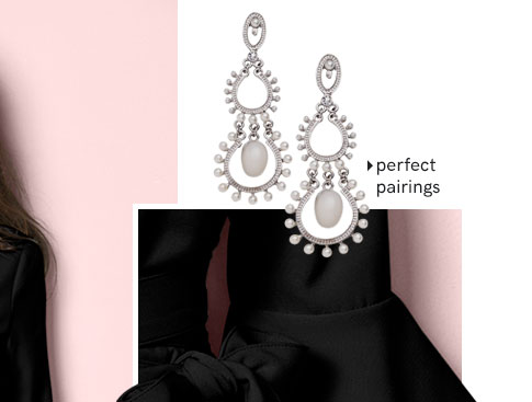 Perfect pairings, shop Earrings.