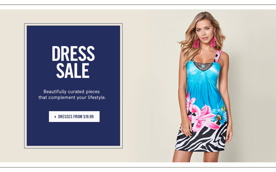 Shop dresses from as low as $19.99