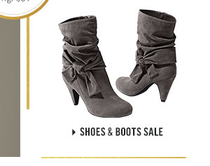 Our adorable ankle Boots on sale now are a step in the right direction.
