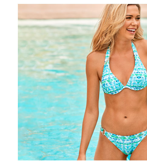Shop our Fresh Print swimsuits for Spring!