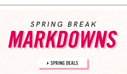 Browse our selection of Spring Deals