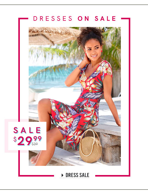 Casual, bodycon, maxi dresses and more, all on sale!