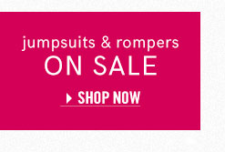 Browse the selection of summer deals on jumpsuits & rompers from VENUS!