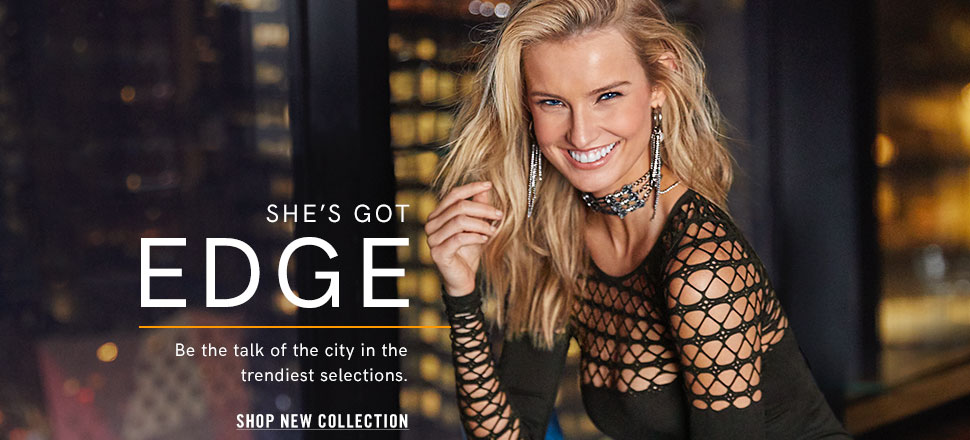 0e91c53d2bf8 Be the talk of the city in the trendiest selctions in our new Edge  Collection.