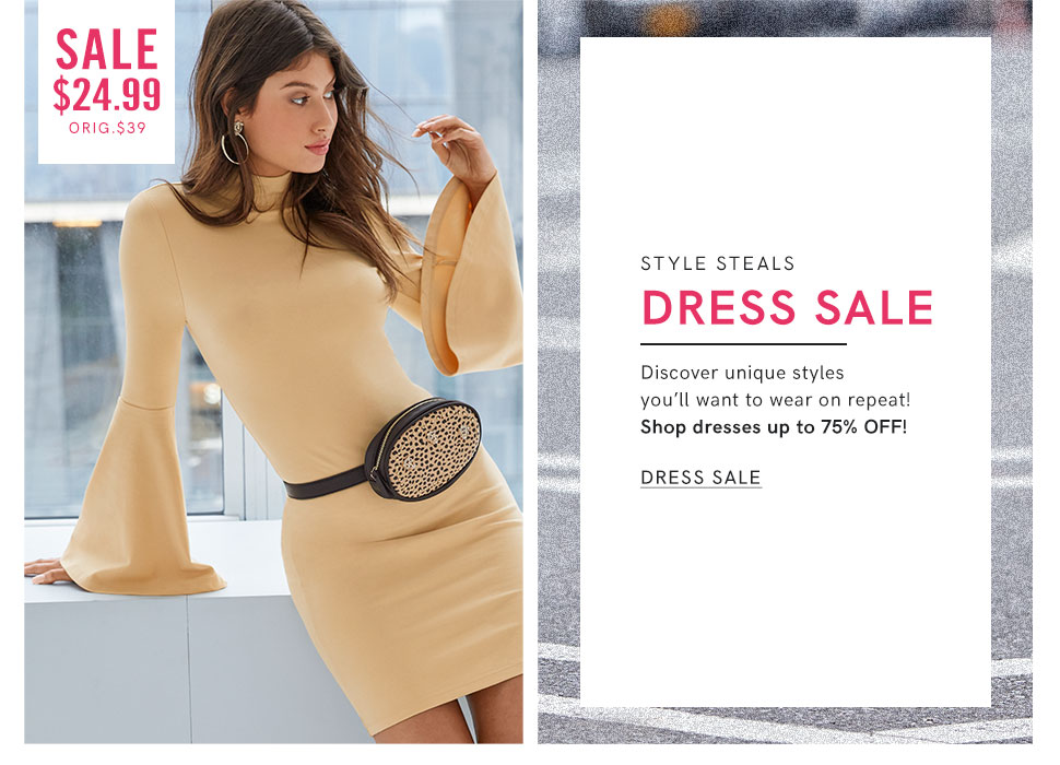 Shop for women's Dresses on sale in all in your favorite styles!