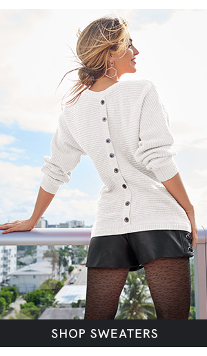 Discover women's sweaters that are perfect for everyday wear at VENUS!
