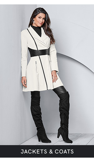 Discover women's jackets and coats and layer up in style at VENUS!