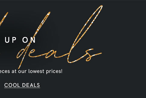 Check out all these Seasonal Cool Deals from VENUS!