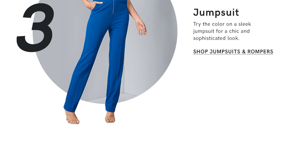 Jump into style with a jumpsuit or romper on clearance from VENUS!