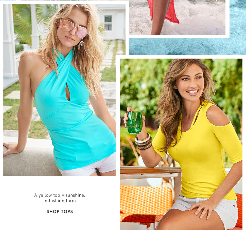 Find that perfect top this summer from VENUS.
