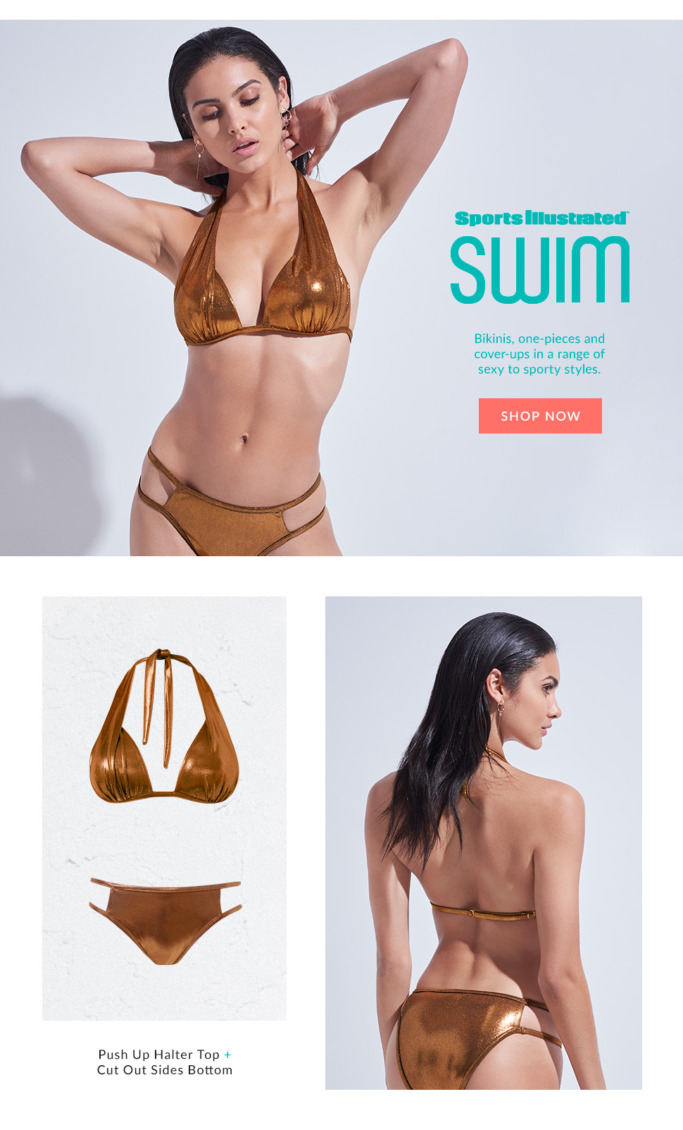 Our new Sports Illustrated swimwear collection.