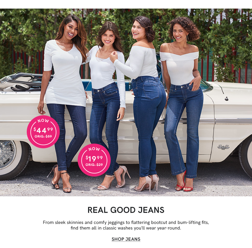 Shop for the perfect pair of Jeans from VENUS.