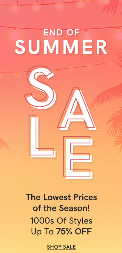 Discover the VENUS End of Summer sale!