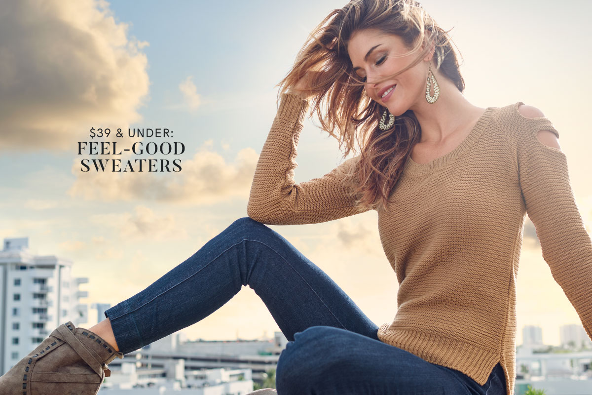 Discover Sweaters from VENUS for $39 and under!
