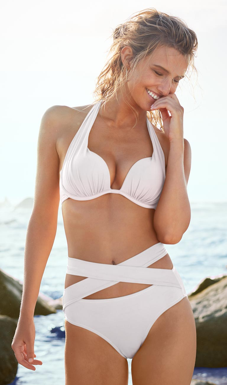 Shop our white colored swimwear from VENUS.