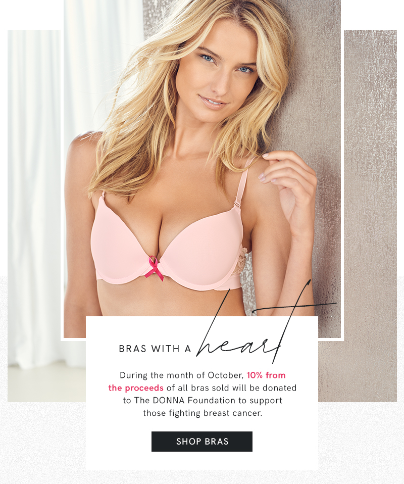 Shop our collection of bras in a variety of styles from sexy sheer to comfortable every day bras.