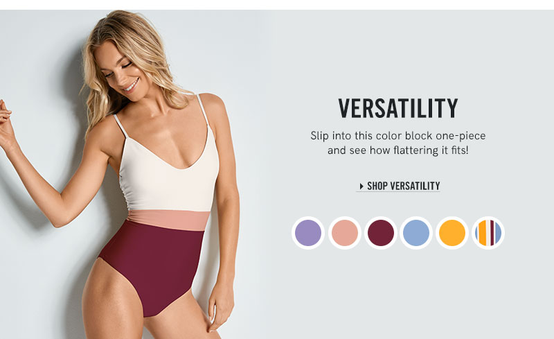 Shop our new Versatility collection.