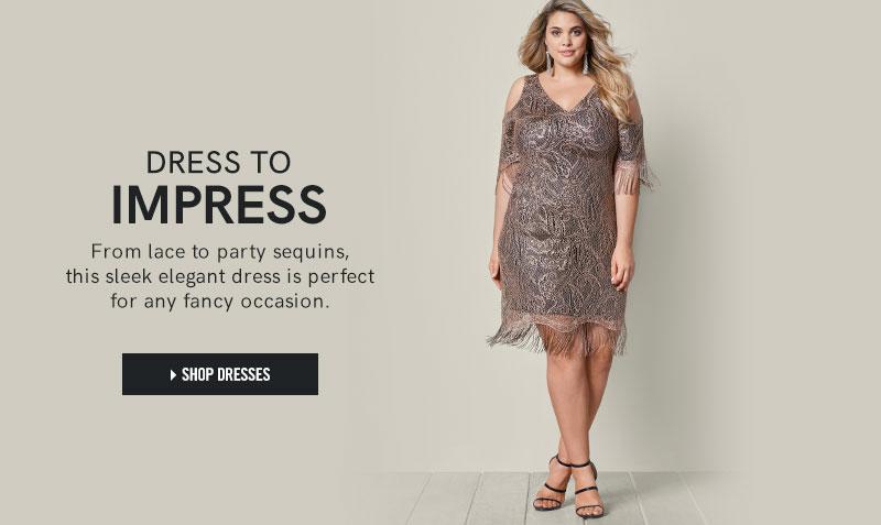 women's plus size clothing: dresses, tops & jeans - venus