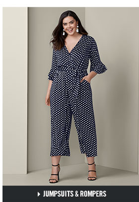 She can rock our bold patterned Jumpsuits, and so can you!