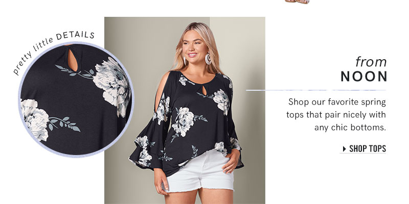 b1463be9f Browse our tops in plus sizes.