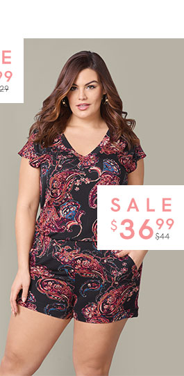 6688448a09f4 Jump into style with a VENUS plus size jumpsuit or romper!